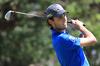 Renato Paratore (ITA) in action during the first round of the Magical Kenya Open presented by ABSA played at Karen Country Club, Nairobi, Kenya. 14/03/2019<br /> Picture: Golffile | Phil Inglis<br /> <br /> <br /> All photo usage must carry mandatory copyright credit (&copy; Golffile | Phil Inglis)