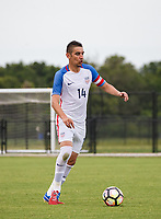 Lakewood Ranch, FL - Sunday July 23, 2017: David Garza during an international friendly match between the paralympic national teams of the United States (USA) and Canada (CAN) at Premier Sports Campus at Lakewood Ranch.