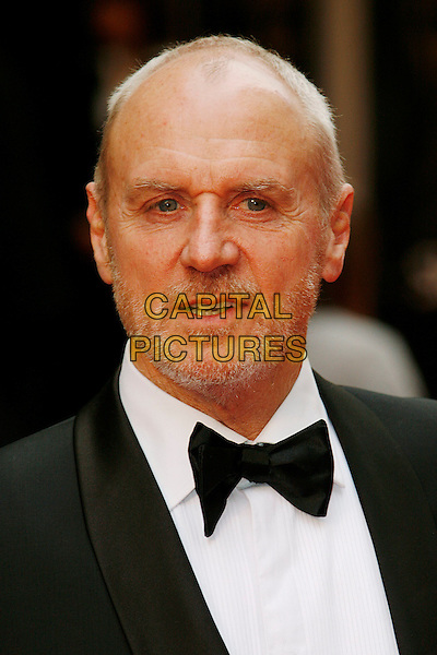 ALAN DALE.Red Carpet Arrivals for the British Academy Television Awards 2008, held at the London Palladium, London, England, April 20th 2008..BAFTA BAFTA's portrait headshot black bow tie .CAP/DAR.©Darwin/Capital Pictures