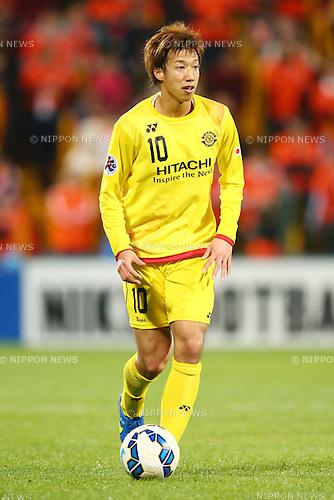 Yuki Otsu (Reysol),<br /> MARCH 17, 2015 - Football / Soccer : <br /> AFC Champions League Group E <br /> match between Kashiwa Reysol 2-1 Shandong Luneng FC <br /> at Hitachi Kashiwa Stadium, Chiba, Japan.<br /> (Photo by AFLO SPORT)