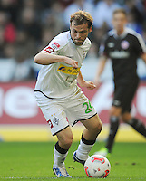 FUSSBALL   1. BUNDESLIGA  SAISON 2012/2013   7. Spieltag   Borussia Moenchengladbach - Eintracht Frankfurt   07.10.2012 Tony Jantschke (Borussia Moenchengladbach) Einzelaktion am Ball