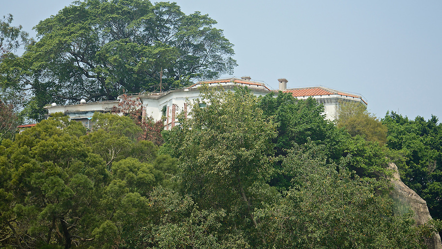 General Manager's Residence Perched Atop A Cliff, 57 Guxin Road, Gulangyu, Xiamen (Amoy).