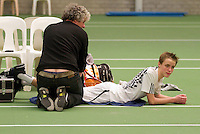 05-12-10, Tennis, Almere, Reaal WJC Masters, Bas Louwers