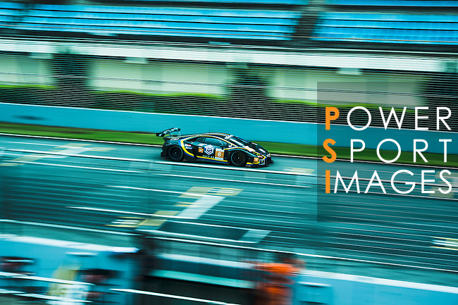 VS Racing, #6 Lamborghini Huracan GT3, driven by Kei Cozzolino, Corey Lewis, Adrian Zaugg in action during the Free Practice 2 of the 2016-2017 Asian Le Mans Series Round 1 at Zhuhai Circuit on 29 October 2016, Zhuhai, China.  Photo by Marcio Machado / Power Sport Images
