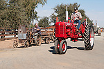Annual fall Gas-Up at McFarland Ranch near Galt, Calif. of Branch 13, Early-Day Gas Engine and Tractor Association. (EDGE & TA)..Homemade and Farmall tractors