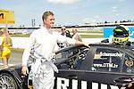 DTM-Auftakt 2009, 100. Rennen der Deutschen Tourenwagen Masters in Hockenheim - Ralf Schumacher (D) Trilux AMG Mercedes Mercedes-Benz 2009, Fahrerpaersentation                                                                                            Foto © nph (  nordphoto  )