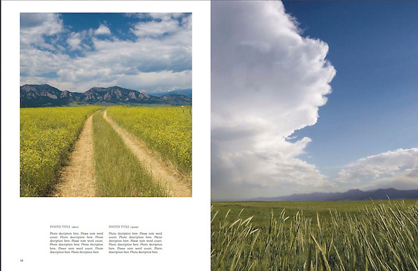 """Private photo tours of Boulder by John.<br /> Photo from: """"Boulder, Colorado: A Photographic Portrait"""" by John Kieffer."""