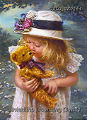 CHILDREN, KINDER, NIÑOS, paintings+++++,USLGSK0164,#K#, EVERYDAY ,Sandra Kock, victorian
