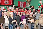 Liverpool Supporters Club.: The Listowel Liverpool supporters club enjoying their Christmas party at The Kingdom Bar in Listowel on Saturday night.