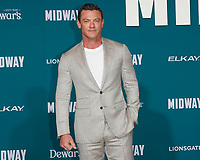 "LOS ANGELES - NOV 5:  Luke Evans at the ""Midway"" Premiere at the Village Theater on November 5, 2019 in Westwood, CA"