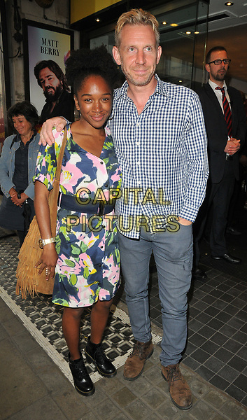Cherrelle Skeete and Paul Thornley at the &quot;Disco Pigs&quot; press night, Trafalgar Studios, Whitehall, London, England, UK, on Tuesday 18 July 2017.<br /> CAP/CAN<br /> &copy;CAN/Capital Pictures