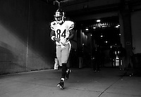 Antonio Brown #84 of the Pittsburgh Steelers takes the field against the Cincinnati Bengals during the game at Paul Brown Stadium on December 12, 2015 in Cincinnati, Ohio. (Photo by Jared Wickerham/DKPittsburghSports)