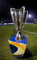 A view of the Heineken Cup<br /> <br /> Photographer Bob Bradford/CameraSport<br /> <br /> European Champions Cup Round 5 - Bath Rugby v Scarlets - Friday 12th January 2018 - The Recreation Ground - Bath<br /> <br /> World Copyright &copy; 2018 CameraSport. All rights reserved. 43 Linden Ave. Countesthorpe. Leicester. England. LE8 5PG - Tel: +44 (0) 116 277 4147 - admin@camerasport.com - www.camerasport.com