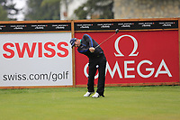 Ryan Fox (NLZ) tees off the 2nd tee during Saturday's Round 3 of the 2017 Omega European Masters held at Golf Club Crans-Sur-Sierre, Crans Montana, Switzerland. 9th September 2017.<br /> Picture: Eoin Clarke | Golffile<br /> <br /> <br /> All photos usage must carry mandatory copyright credit (&copy; Golffile | Eoin Clarke)