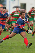 R. Avei. Counties Manukau Premier Club Rugby, Ardmore Marist vs Waiuku played at Bruce Pulman Park, Papakura on the 29th of April 2006. Ardmore Marist won 10 - 9.