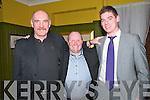 Beale GAA Social: Attending the Beale GAA club Social at the Golf Hotel, Ballybunion on Saturday night last were Dino Dowling, Maurice King & Sean Dee.