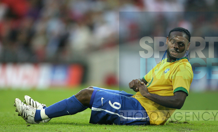 Brazil's Vagner Love..International Friendly..England v Brazil..1st June, 2007..--------------------..Sportimage +44 7980659747..admin@sportimage.co.uk..http://www.sportimage.co.uk/