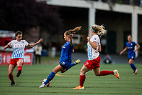 Seattle, WA - Wednesday, June 28, 2017: Lindsay Elston during a regular season National Women's Soccer League (NWSL) match between the Seattle Reign FC and the Chicago Red Stars at Memorial Stadium.