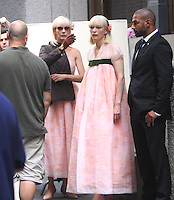 NEW YORK, NY-July 24: Tida Swinton shooting on location for Netflix & Plan B Enterainment  film Okja in New York. NY July 24, 2016. Credit:RW/MediaPunch