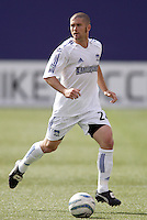 The EarthQuakes' Wade Barrett. The San Jose EarthQuakes defeated the MetroStars 1 - 0 at Giant's Stadium, East Rutherford, NJ, on Saturday May 7, 2005.