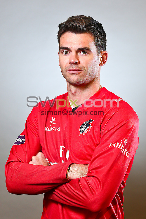 Picture by Alex Whitehead/SWpix.com - 04/04/2014 - Cricket - LV County Championship - Lancashire County Cricket Club 2014 Media Day - Old Trafford, Manchester, England - James 'Jimmy' Anderson