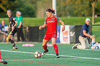 Boston, MA - Sunday September 10, 2017: Hayley Raso during a regular season National Women's Soccer League (NWSL) match between the Boston Breakers and Portland Thorns FC at Jordan Field.