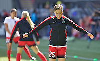 Portland, Oregon - Sunday September 4, 2016: Portland Thorns FC defender Meghan Klingenberg (25) during a regular season National Women's Soccer League (NWSL) match at Providence Park.