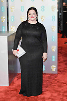 LONDON, UK - FEBRUARY 10: Melissa McCarthy at the 72nd British Academy Film Awards held at Albert Hall on February 10, 2019 in London, United Kingdom. Photo: imageSPACE/MediaPunch<br /> CAP/MPI/IS<br /> ©IS/MPI/Capital Pictures