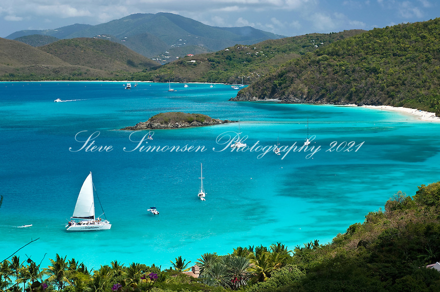 Cinnamon Bay.Virgin Islands National Park.St John, US Virgin Islands