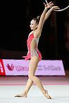 Patricia Bezzoubenko (CAN), OCTOBER 4, 2015 - Rhythmic Gymnastics : AEON CUP 2015 World wide R.G. Club Championships at Tokyo Metropolitan Gymnasium, Tokyo, Japan. (photo by Naoto Akasaka/AFLO)