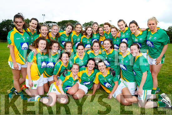 Southern Gaels team celebrate after defeating Castleisland Desmonds in their County Championship final in Listry on Sunday