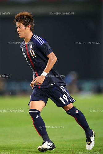 Yoichiro Kakitani (JPN), AUGUST 14, 2013 - Football / Soccer : <br /> KIRIN Challenge Cup 2013 match <br /> between Japan 2-4 Uruguay <br /> at Miyagi Stadium, Miyagi, Japan.<br />  (Photo by AFLO SPORT)