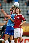Maiken Pape, Karin Stevens, Women's EURO 2009 in Finland.Denmark-Netherlands, 08292009, Lahti Stadium