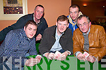 CLASSIC: Taking part in the Poker Classic in Kirby's Lanterns Hotel on Friday night were front l-r: PJ Foley, Kevin Purtill (Ballylongford) and John Flynn (Tarbert). Back l-r: Pat Lyons (Finuge) and David Lyons (Listowel).   Copyright Kerry's Eye 2008