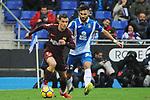 League Santander 2017-2018 - Game: 22.<br /> RCD Espanyol vs FC Barcelona: 1-1.<br /> Coutinho vs Marc Navarro.