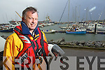 "Fenit RNLI  volunteer Tony Stack who will receive a ""Just in time"" award from Irish Water Safety."
