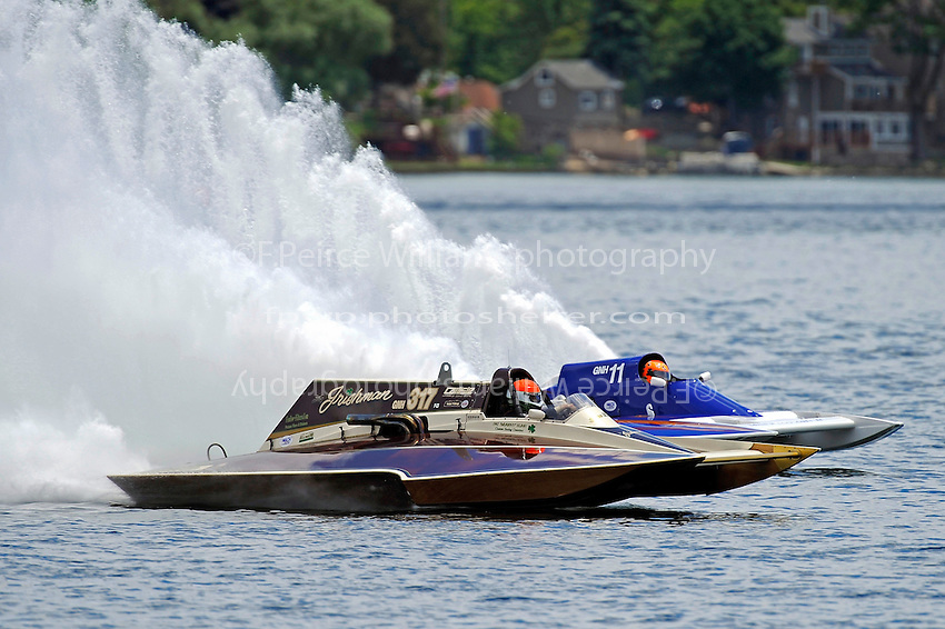 """Steve Kuhr, Jr., GNH-317 """"The Irishman"""" and GNH-11 (Grand National Hydroplane(s)"""