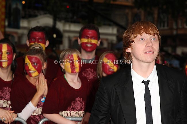 """WWW.ACEPIXS.COM . . . . .  ..... . . . . US SALES ONLY . . . . .....July 7 2009, London....Actor Rupert Grint at the World Premiere of """"Harry Potter And The Half-Blood Prince"""" held at the Empire Leicester Square on July 7 2009 in London....Please byline: FAMOUS-ACE PICTURES... . . . .  ....Ace Pictures, Inc:  ..tel: (212) 243 8787 or (646) 769 0430..e-mail: info@acepixs.com..web: http://www.acepixs.com"""