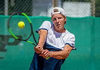 The Hague, Netherlands, 11 June, 2017, Tennis, Play-Offs Competition, Bart de Gier, Heerhugowaard<br /> Photo: Henk Koster/tennisimages.com