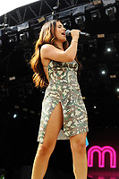 BRIGHTON, ENGLAND - AUGUST 4: Mabel performing at Brighton and Hove Pride, Preston Park on August 4, 2018 in London, England.<br /> CAP/MAR<br /> &copy;MAR/Capital Pictures
