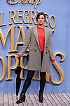 Clara Alvarado attends to Mary Poppins Returns film premiere at Kinepolis in Pozuelo de Alarcon, Spain. December 11, 2018. (ALTERPHOTOS/A. Perez Meca)