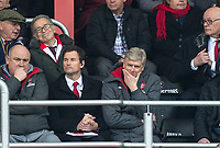 Arsenal Manager Arsene Wenger during the Premier League match between Bournemouth and Arsenal at the Goldsands Stadium, Bournemouth, England on 14 January 2018. Photo by Andy Rowland.