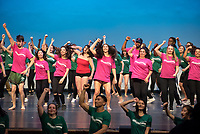 Dance Production dress rehearsal, March 22, 2018 in Thorne Hall. An Occidental College tradition for 70 years.<br /> (Photo by Marc Campos, Occidental College Photographer)