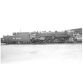 D&amp;RGW #1400 in Alamosa.<br /> D&amp;RGW  Alamosa, CO  Taken by Payne, Andy M. - 5/5/1954