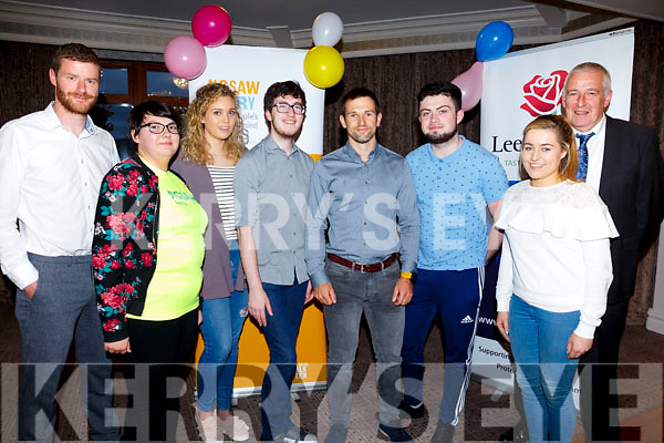 "Jigsaw Kerry hosted at a talk entitled ""Developing Mental Resilience by extreme endurance athlete Gavan Hennigan at the Rose Hotel on Sunday. Pictured l-r Donagh Henneberry, Katie Corrigan, Alisha Buckley, Michael Edgar, Gavan Hennigan, Adam Guiren, Clare Moynihan and Jimmy Mulligan."