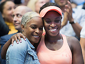 9th September 2017, FLushing Meadows, New York, USA;  Sloan Stephens (USA) with  her mother Sybil Smith after winning the US Open Women's Singles title  at the USTA Billie Jean King National Tennis Center in Flushing Meadow, NY.