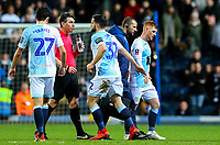 Blackburn Rovers' Harrison Reed leaves the field<br /> <br /> Photographer Alex Dodd/CameraSport<br /> <br /> Emirates FA Cup Third Round Replay - Blackburn Rovers v Newcastle United - Tuesday 15th January 2019 - Ewood Park - Blackburn<br />  <br /> World Copyright &copy; 2019 CameraSport. All rights reserved. 43 Linden Ave. Countesthorpe. Leicester. England. LE8 5PG - Tel: +44 (0) 116 277 4147 - admin@camerasport.com - www.camerasport.com