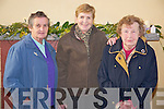 Pictured at the Listry Community Party in the Listry Community Centre on Sunday were Mary McCarthy, Kathleen Griffin and Phyllis Sugrue.