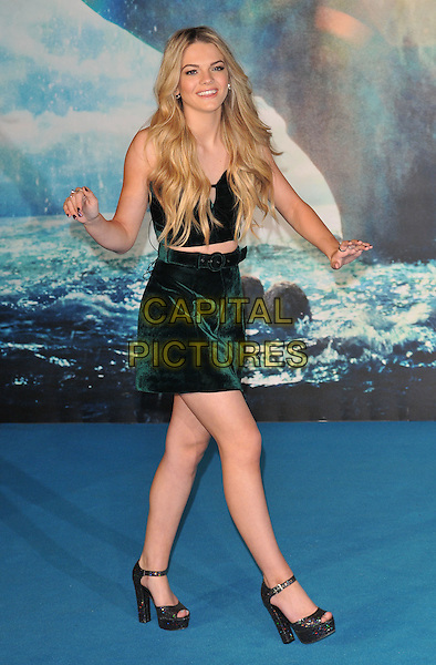 Louisa Johnson attends the &quot;In The Heart Of The Sea&quot; European film premiere, Empire cinema, Leicester Square, London, UK, on Wednesday 02 December 2015.<br /> CAP/CAN<br /> &copy;Can Nguyen/Capital Pictures