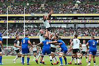 090819 | Ireland vs Italy<br /> <br /> Rhys Ruddock during Ireland's RWC warm up game against Italy at the Aviva Stadium, Lansdowne Road, Dublin, Ireland. Photo by John Dickson - DICKSONDIGITAL